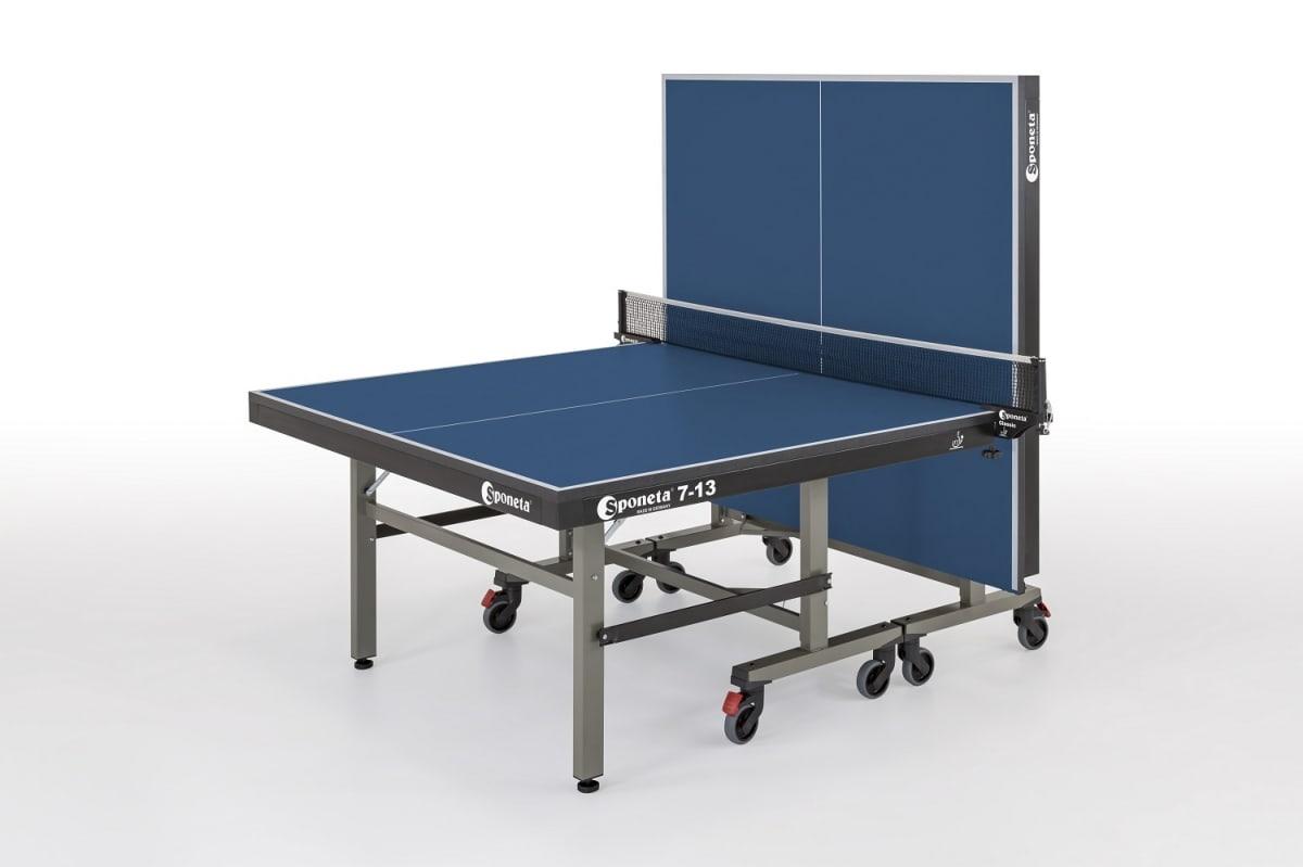 Thorntons table tennistable tennis table sponeta profiline master compact indoor s7 13i - Sponeta table tennis table ...
