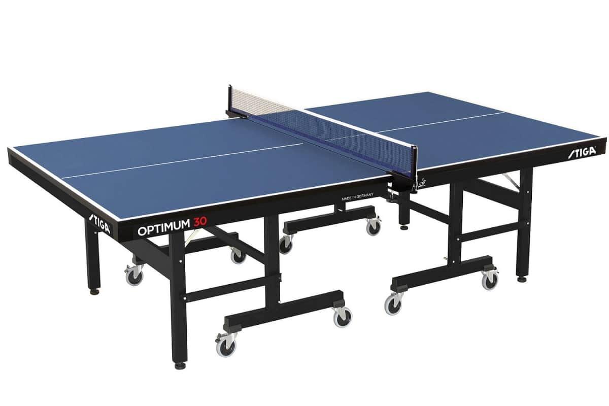 Table Tennis Table Stiga Optimum 30mm Table Blue
