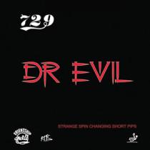 Table Tennis Rubber: 729 Friendship Dr. Evil