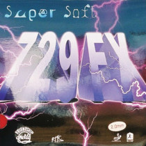 Table Tennis Rubber: 729 FX supersoft