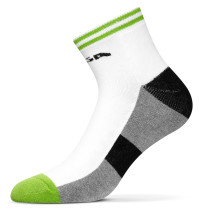 Table Tennis Footwear: Stiga Socks Line Semi-High Senior - Green