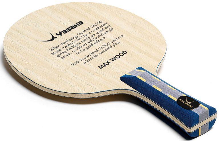 Table Tennis Blade: Yasaka Max Wood
