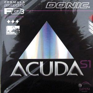 Table Tennis Rubber: Donic Acuda S1