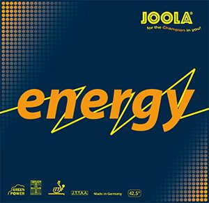 Table Tennis Rubber: Joola Energy Green Power