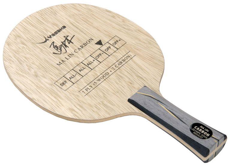 Table Tennis Blade: Yasaka Ma Lin Carbon