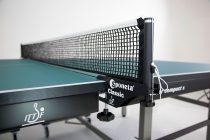 Table Tennis Table: Sponeta ProfiLine Master Compact Indoor S7-12 - GREEN