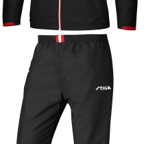 Table Tennis Clothing: Stiga Tracksuit Empire - Red