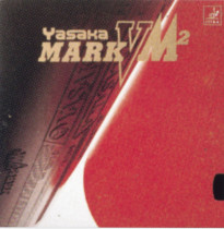 Table Tennis Rubber: Yasaka Mark VM2