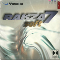 Table Tennis Rubber: Yasaka Rakza 7 Soft