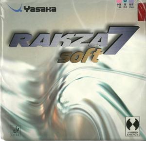 Table Tennis Rubber: Yasaka Rakza 7 Soft