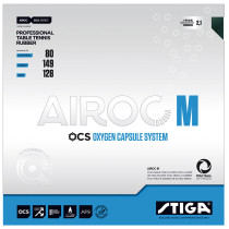 Table Tennis Rubber: Stiga Airoc-M