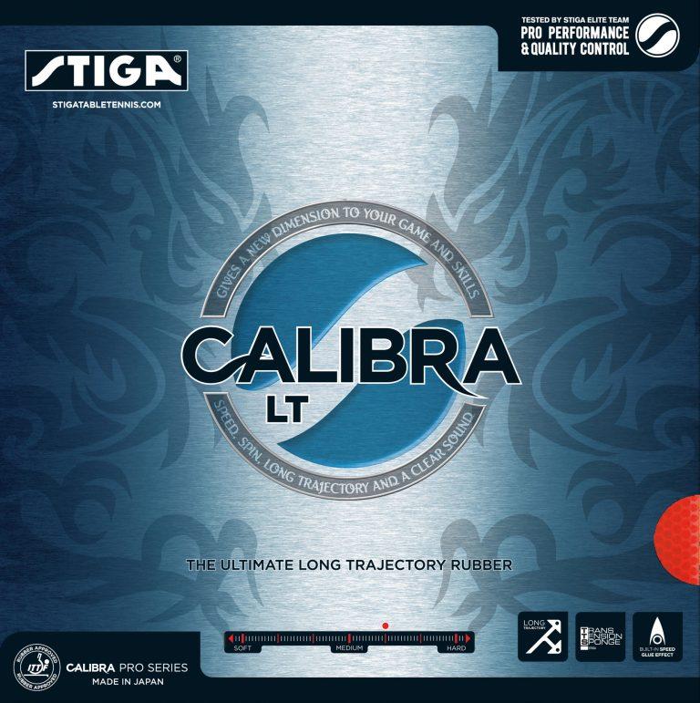 Table Tennis Rubber: Stiga Calibra LT