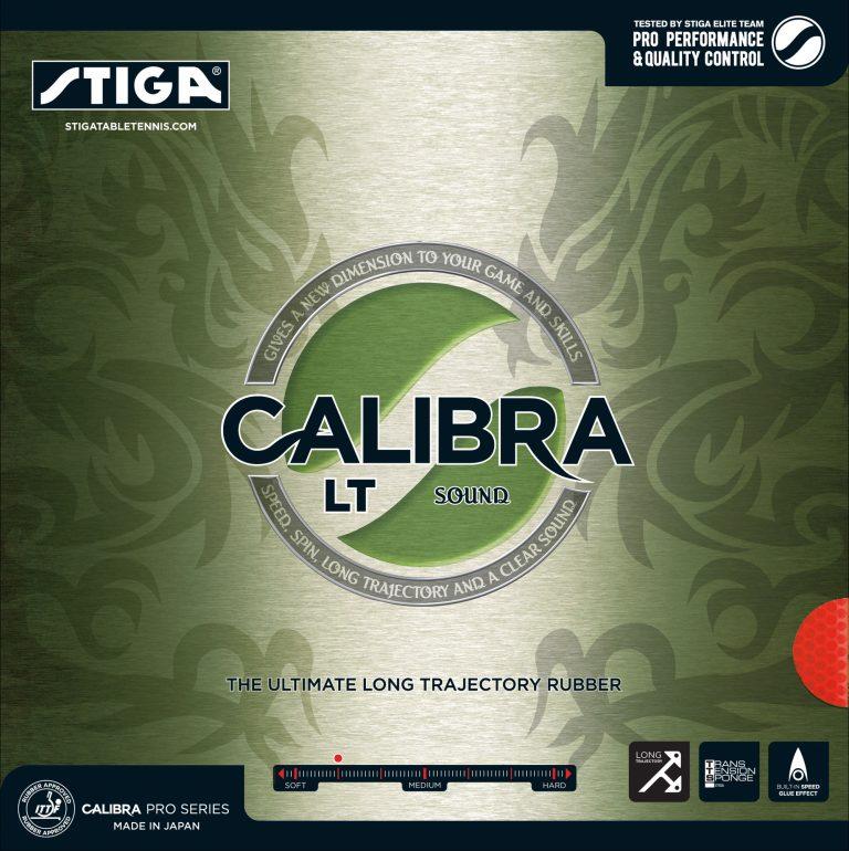 Table Tennis Rubber: Stiga Calibra LT Sound