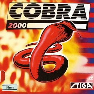 Table Tennis Rubber: Stiga Cobra 2000