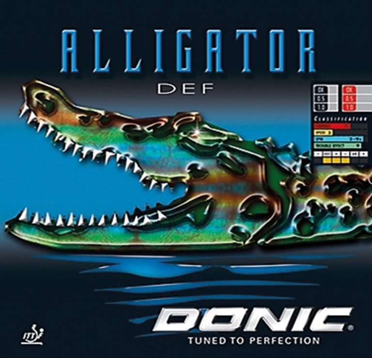 Table Tennis Rubber: Donic Alligator