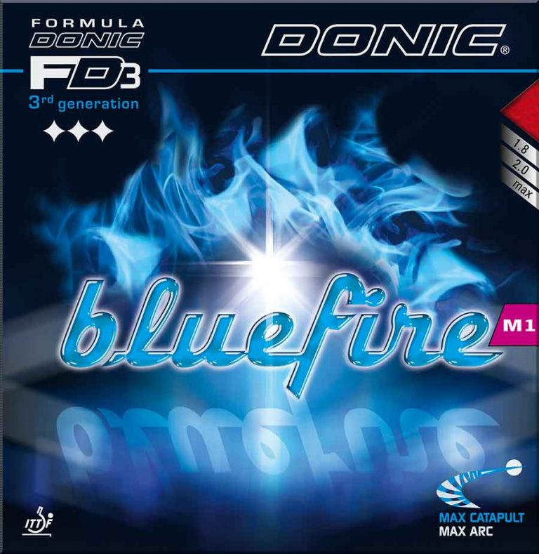 Table Tennis Rubber: Donic BlueFire M1