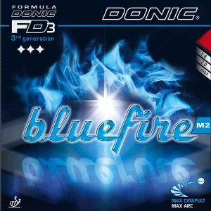 Table Tennis Rubber: Donic BlueFire M2