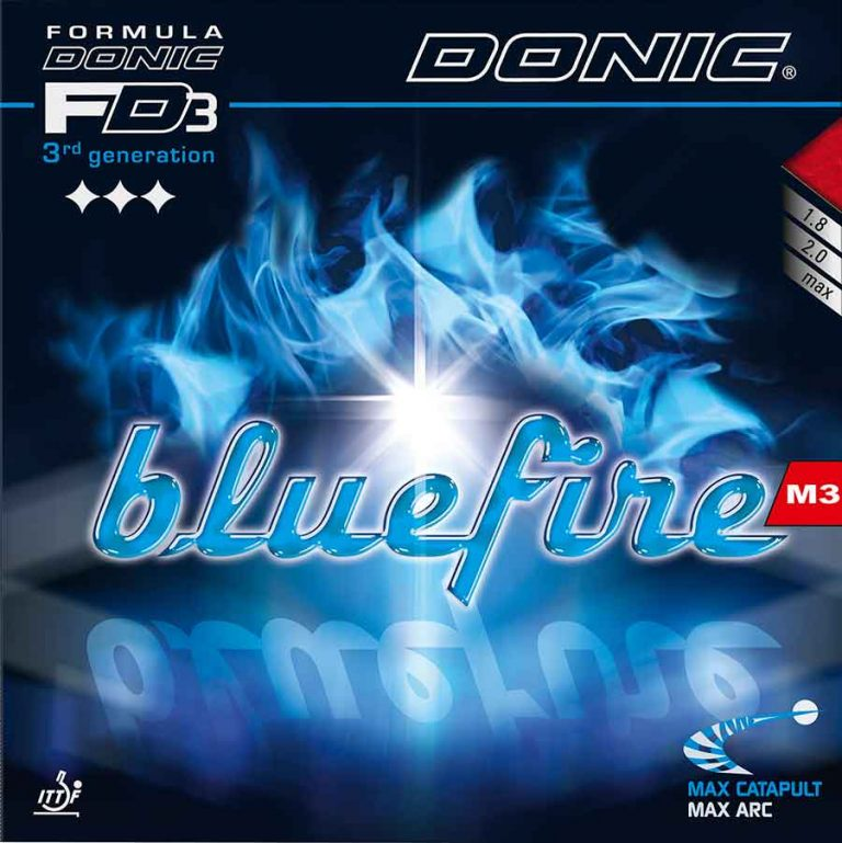 Table Tennis Rubber: Donic BlueFire M3