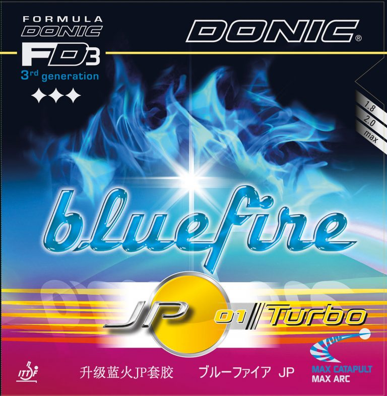 Table Tennis Rubber: Donic BlueFire JP01 Turbo