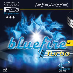 Table Tennis Rubber: Donic BlueFire M1 Turbo