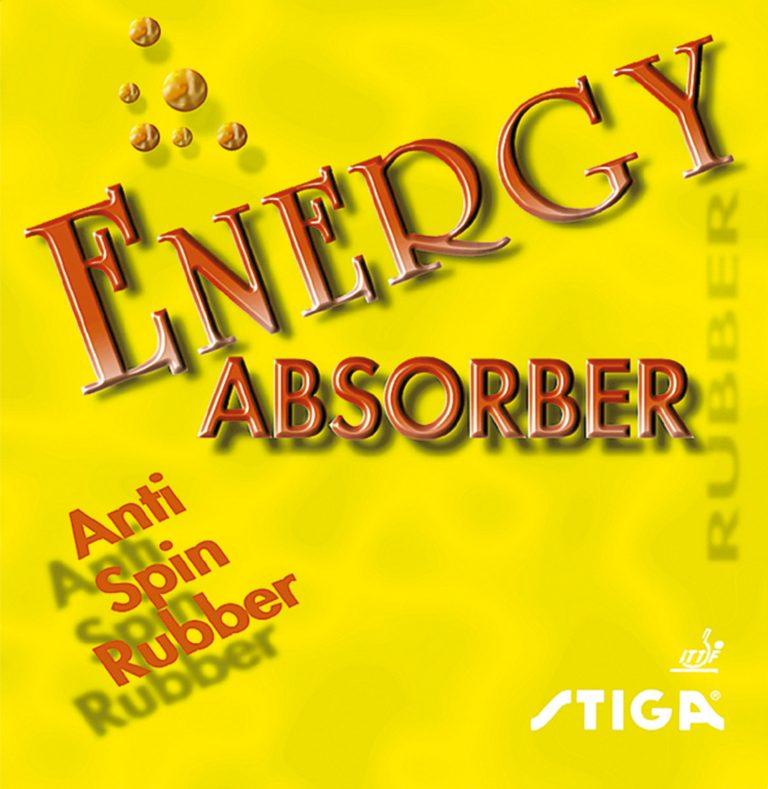 Table Tennis Rubber: Stiga Energy Absorber