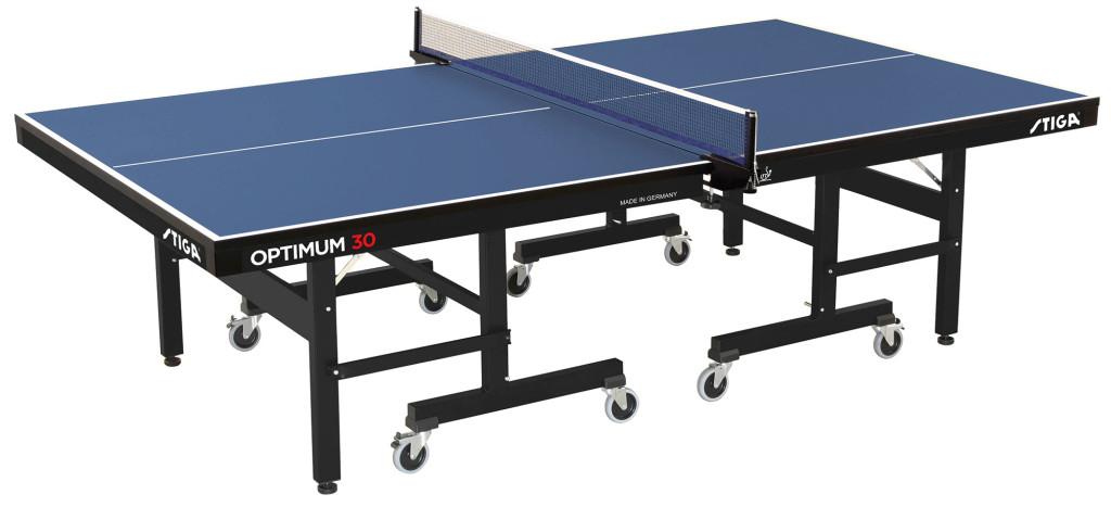 Table Tennis Table: Stiga Optimum 30mm table - BLUE