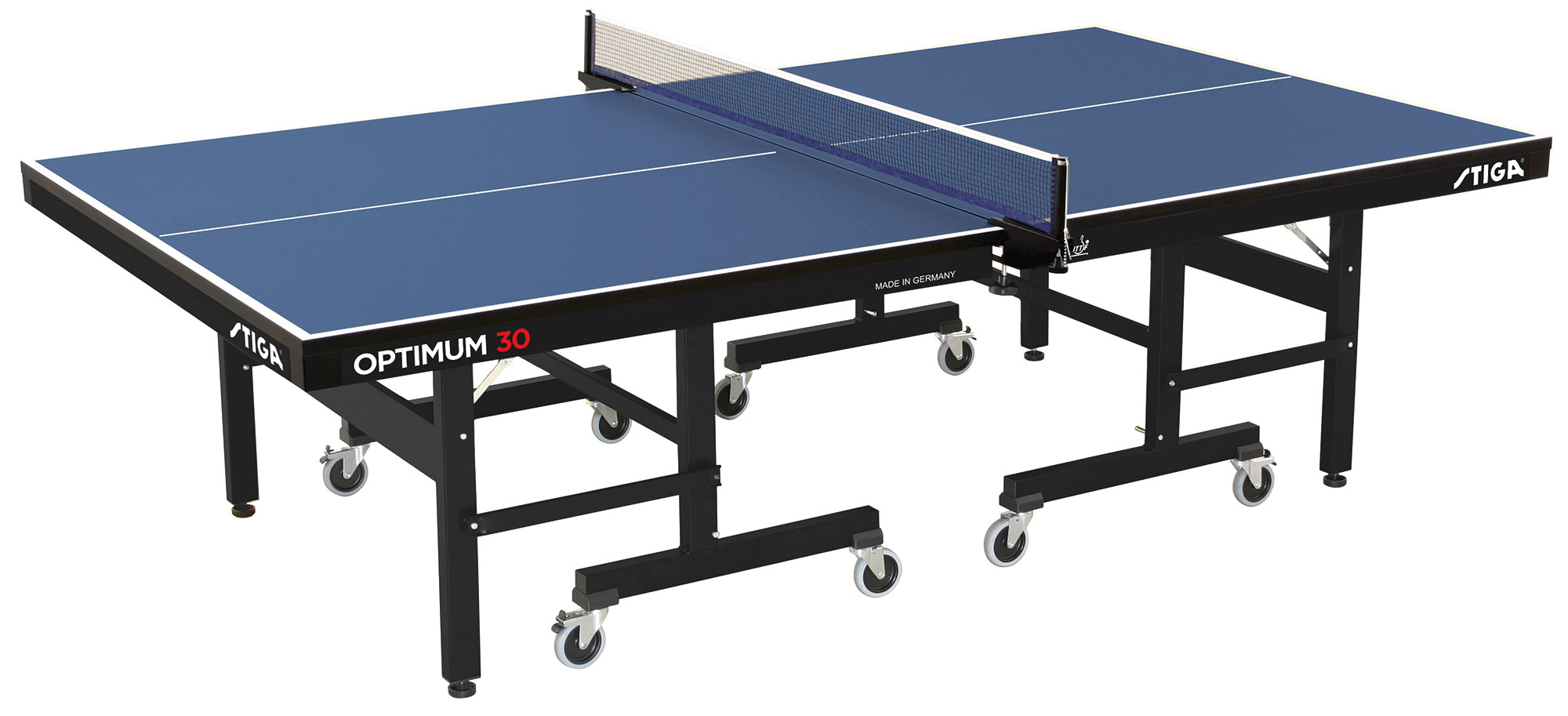 thorntons table tennistable tennis table stiga optimum 30mm table blue. Black Bedroom Furniture Sets. Home Design Ideas