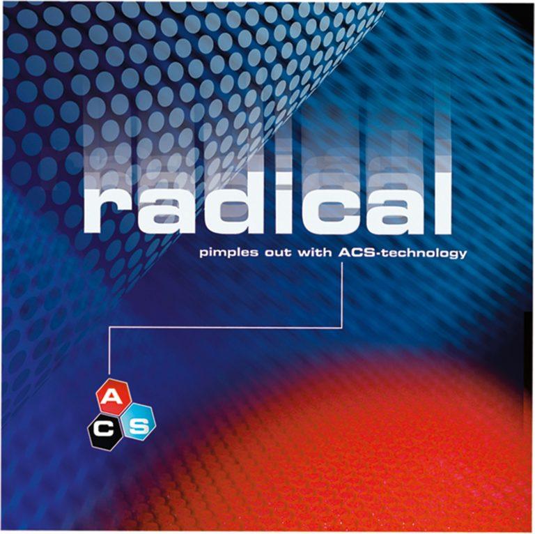 Table Tennis Rubber: Stiga Radical