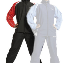 Table Tennis Clothing: Stiga Tracksuit Action - Black/Red