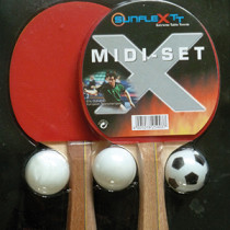 Table Tennis Bat: Sunflex Midi Bat Set