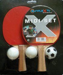 Table Tennis Bat: Sunflex Midi Bat Set