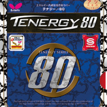 Table Tennis Rubber: Butterfly Tenergy 80