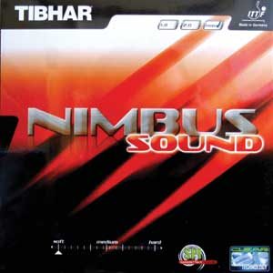 Table Tennis Rubber: Tibhar Nimbus Sound