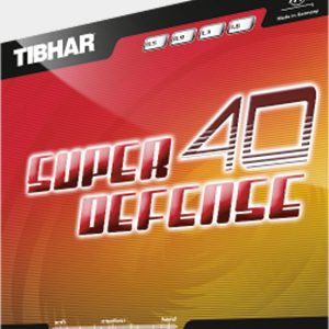 Table Tennis Rubber: Tibhar Super Defense 40