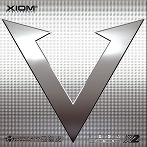 Table Tennis Rubber: XIOM Vega Pro