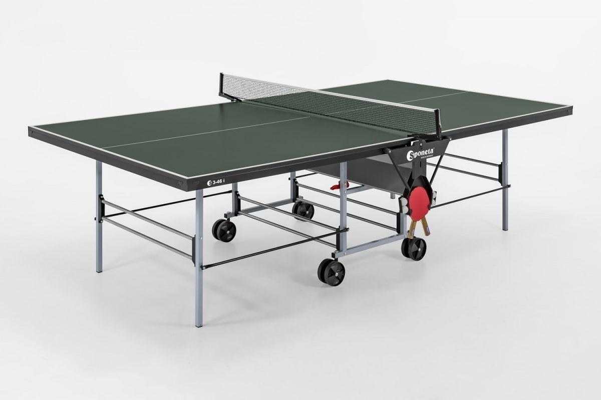 Thorntons table tennistable tennis table sponeta sportline playback indoor 3 46i - Sponeta table tennis table ...