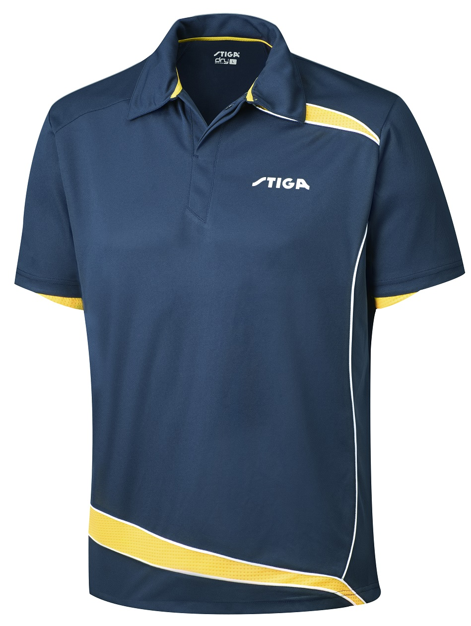 Thorntons Table Tennistable Tennis Clothing Stiga Shirt