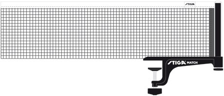 Thorntons Table TennisTable Tennis Net: Stiga Net Set Match