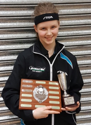 Faye Leggatt  National under 13 and Cadets winner Apr 16