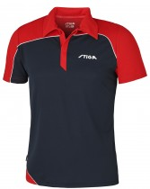 Stiga_Table_Tennis_Shirt_Odyssey Navy Red