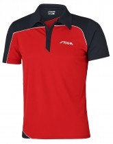 Stiga_Table_Tennis_Shirt_Odyssey Red Navy