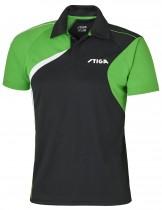 Stiga_Table_Tennis_Shirt_Voyage Black Green