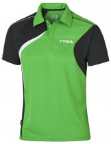 Stiga_Table_Tennis_Shirt_Voyage Green Black