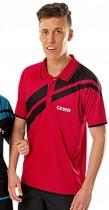 gewo_thorntons_table_tennis_Custom Shirt Drive Set Red Black