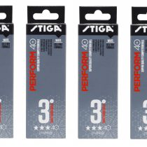1113-2110-03 Table Tennis Ball Perform 3-star ABS 12-pack White